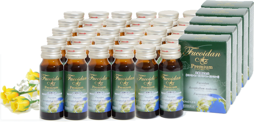 Fucoidan AF Premium The set of 30 bottles of 30ml